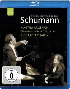 Klavierkonzert/Sinfonie 4, Argerich, Chailly, Gewandhaus Leipzig