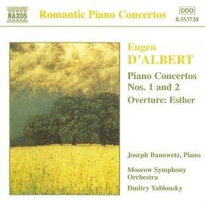 Klavierkonzerte 1+2, Banowetz, Yablonsky, Moso