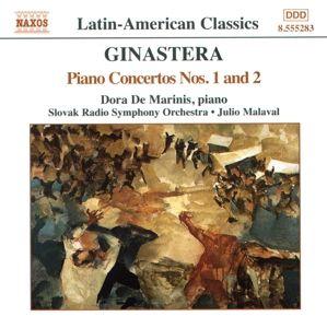 Klavierkonzerte 1+2, Dora De Marinis, Julio Malaval