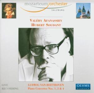 Klavierkonzerte 1,2 & 4, Afanassiev, Soudant, Mos, Mozarteum Orchester Salzburg
