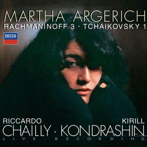 Klavierkonzerte 1,3, Argerich, Chailly, Kondrashin, Sobr, Rsob