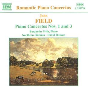 Klavierkonzerte 1+3, B. Frith, D. Haslam, Nse