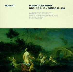 Klavierkonzerte 12,13/Rondo K.386, Schmidt, Masur, Dp