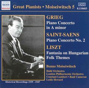 Klavierkonzerte, Benno Moiseiwitsch