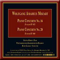 Klavierkonzerte 16 Und 20 - Produktdetailbild 1