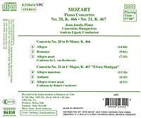 Klavierkonzerte 20+21 - Produktdetailbild 1