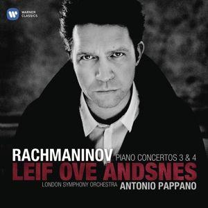 Klavierkonzerte 3 & 4, Leif Ove Andsnes, Pappano, Lso