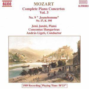 Klavierkonzerte 9+27, Jando, Ligeti, Conh