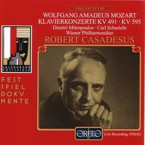 Klavierkonzerte C-Moll Kv 491/B-Dur Kv 595, Casadesus, Mitropoulos, Schuricht, Wp