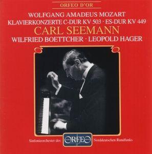 Klavierkonzerte Es-Dur Kv 449/C-Dur Kv 503, Seemann, Boettcher, Hager, Sondr