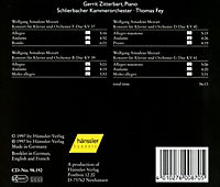 Klavierkonzerte Kv 37+39+40+41 - Produktdetailbild 1