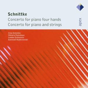 Klavierkonzerte Zu, Postnikova, Schnittke, London Si