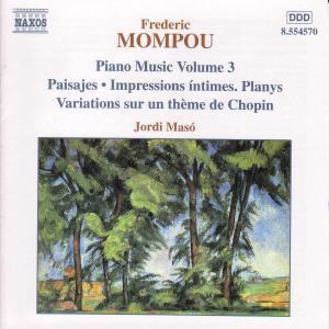 Klaviermusik Vol.3, Jordi Maso