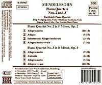 Klavierquartette 2+3 - Produktdetailbild 1