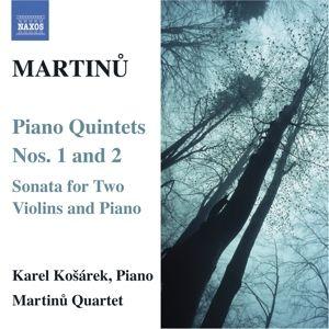 Klavierquintette 1+2, Kosarek, Martinu Quartett
