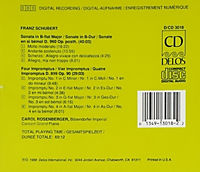 Klaviersonate B-Dur/Impromptu - Produktdetailbild 1