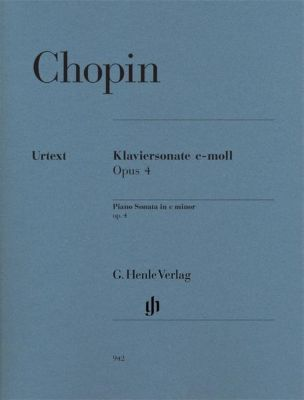 Klaviersonate c-Moll op.4, Frédéric Chopin