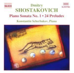 Klaviersonate Nr.1& 24 Preludes, Konstantin Scherbakov