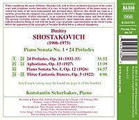 Klaviersonate Nr.1& 24 Preludes - Produktdetailbild 1