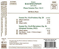 Klaviersonaten 1+2 - Produktdetailbild 1