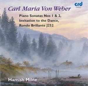 Klaviersonaten 1+2/Aufforderung Zum Tanz, Hamish Milne