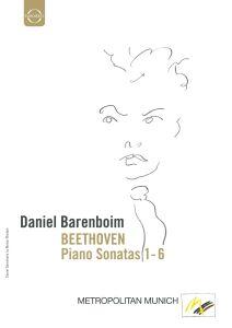 Klaviersonaten 1-6, Ludwig van Beethoven