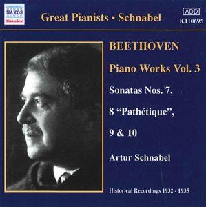 Klaviersonaten 7-10, Artur Schnabel