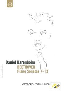 Klaviersonaten 7-13, Daniel Barenboim