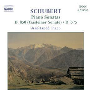 """Klaviersonaten D 850 & D 575, Jen"""" Jando"""