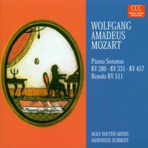 Klaviersonaten Kv 280/331/457/511, Rolf-dieter Arens, Annerose Schmidt