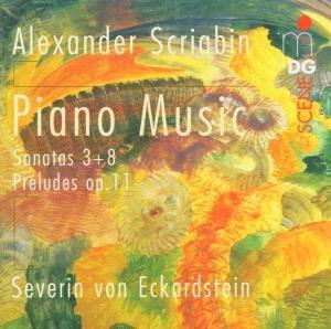 Klaviersonaten Nr. 3 & 8, Severin von Eckardstein