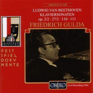 Klaviersonaten Op.2,2/27,2/110/111, Friedrich Gulda