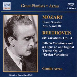 Klaviersonaten/Variationen, Claudio Arrau