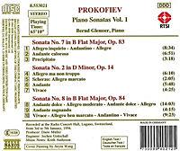 Klaviersonaten Vol. 1 - Produktdetailbild 1