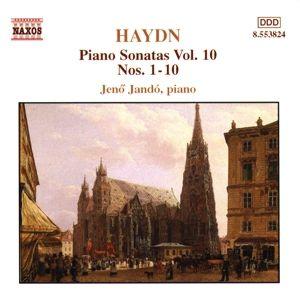 Klaviersonaten Vol. 10 (Sonaten Nr. 1 - 10), Jenö Jando