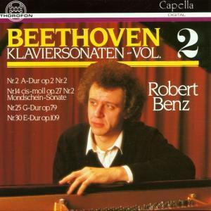 Klaviersonaten Vol. 2, Robert Benz