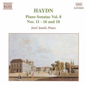 Klaviersonaten Vol.8,Nr 11-1, Jenö Jando