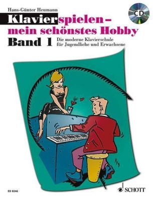 Klavierspielen, mein schönstes Hobby - Schule, m. Audio-CD, Hans-Günter Heumann