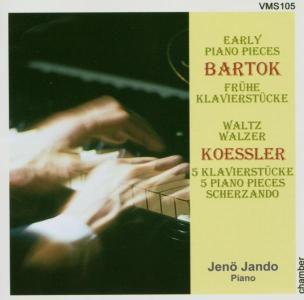 Klavierstücke, Jenö Jando