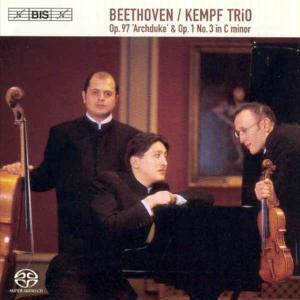 Klaviertrio C-Moll Op.1,3/Klaviertrio B-Dur Op.97, Kempf Trio