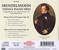 Klaviertrios 1+2 (Op.49+66) - Produktdetailbild 1