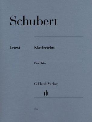 Klaviertrios, Klavier, Violine und Violoncello, Franz Schubert
