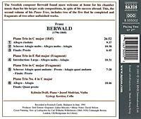 Klaviertrios  Vol. 2:  Klaviertrio in C-dur (1845) /  Es-dur ( Fragment) / C-dur (Fragment) / Nr. 4 C-dur - Produktdetailbild 1