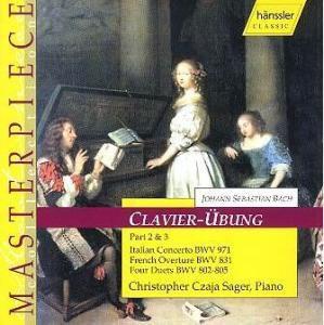 Klavierübung Teil 2 & 3, Christopher Czaja Sager