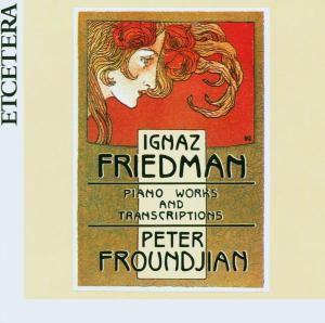 Klavierwerke Und Transkriptionen, Peter Froundjian