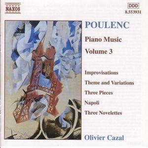 Klavierwerke Vol. 3, Olivier Cazal