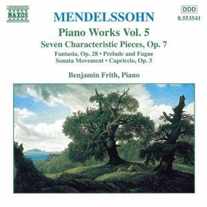 Klavierwerke Vol. 5, Benjamin Frith