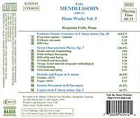 Klavierwerke Vol. 5 - Produktdetailbild 1
