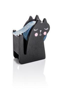 Klebeband-Spender Cat inkl. 4 Washi-Bändern