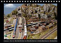 Kleine Bahnen international, TT-N-H0 (Tischkalender 2019 DIN A5 quer) - Produktdetailbild 2